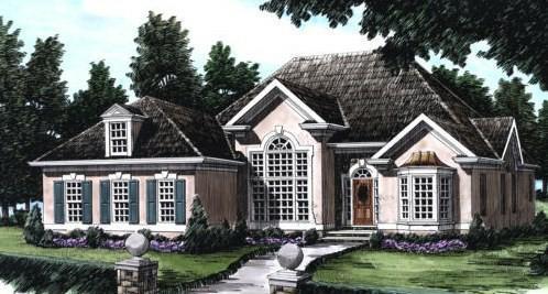 one story custom homes plans