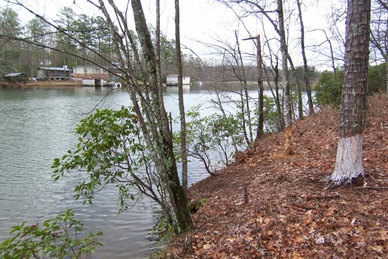 Lake becky waterfront lots mountain rest south carolina for Sumter national forest cabins