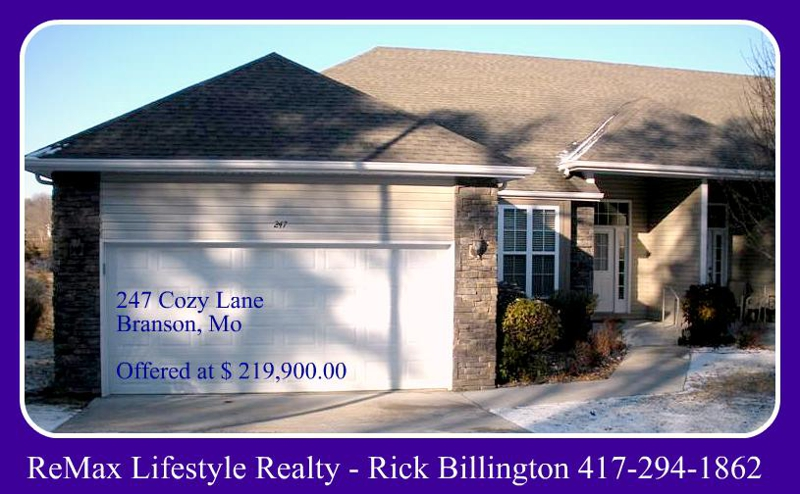 Patio Home For Sale In Branson Mo Homes For Sale In