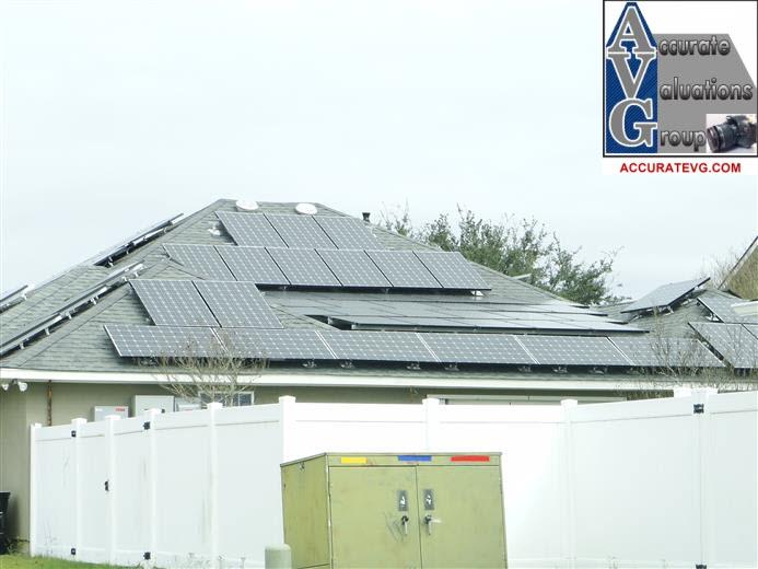 Baton Rouge Home Appraiser Photographs Solar Panel
