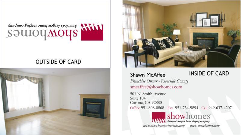 Business cards as a marketing brochure colourmoves