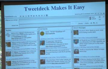 Tweetdeck explained by Bernice