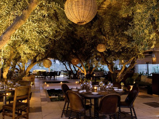 Los Angeles 411 Take In A Delicious Entrée With View At The Soho House West Hollywood California