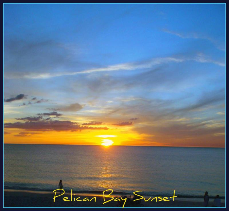 Sunset at Pelican Bay