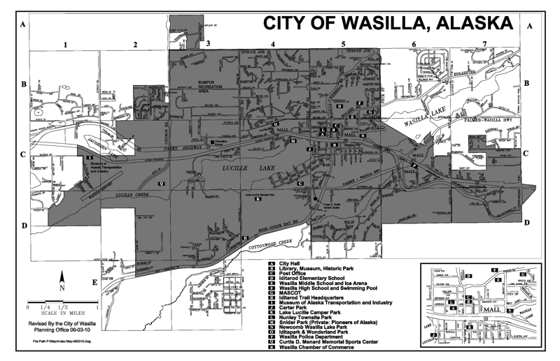 City Limits of Wasilla