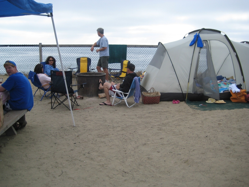 On The Beach Camping In North San Go