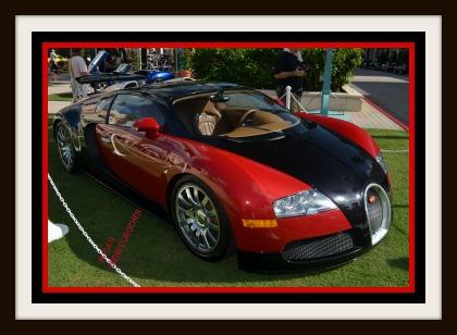 A BATMOBILE AND MILLION DOLLAR BUGATI AT BOCA RATON CAR SHOW - Boca raton car show