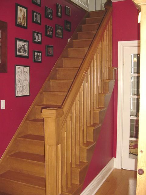 Custom, Maple Staircase