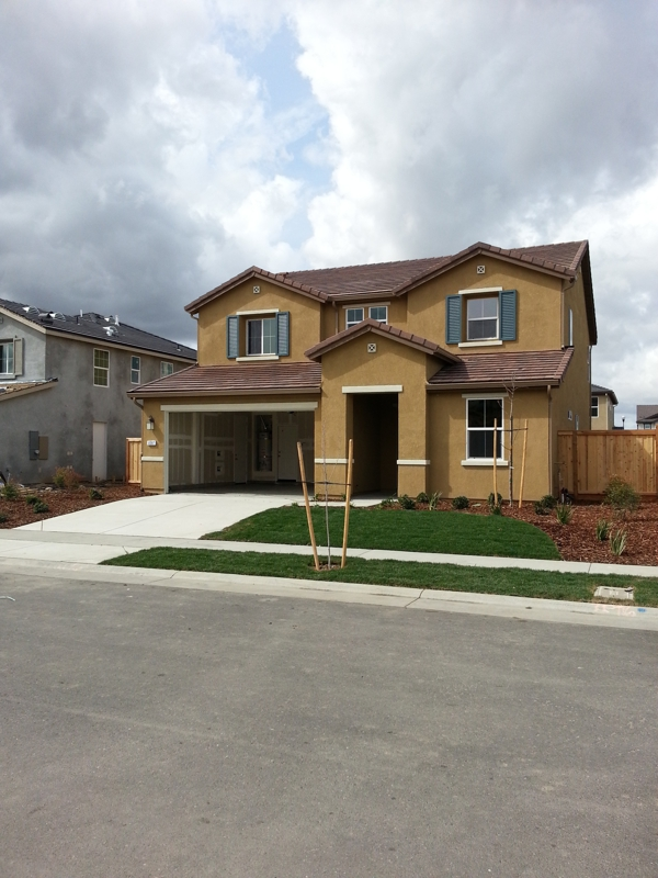 Fiddyment farms model homes