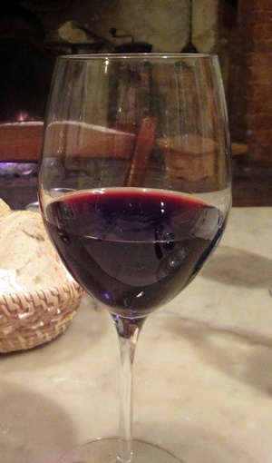 Camp Verde Pecan, Wine & Antique Festival 2011-Glass of Red Wine