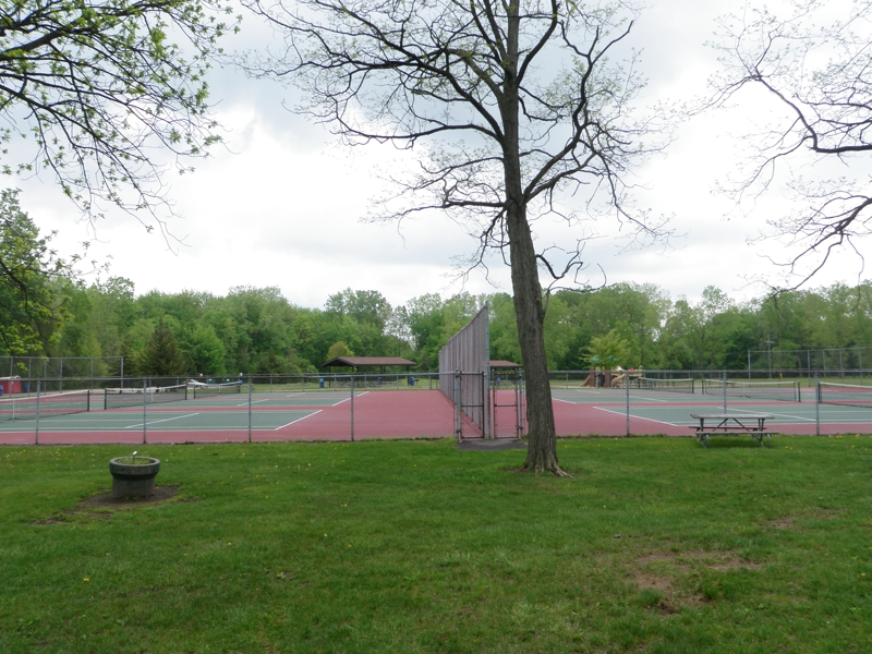 Tennis Courts Rotary Park Livonia Michigan