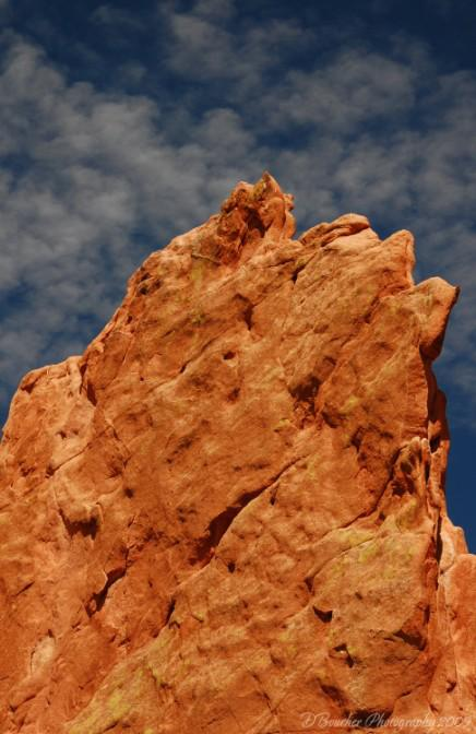 Garden of the Gods, red rock formations