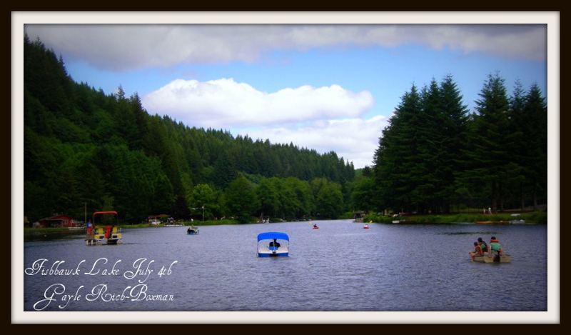 Fishhawk Lake July 4th boaters