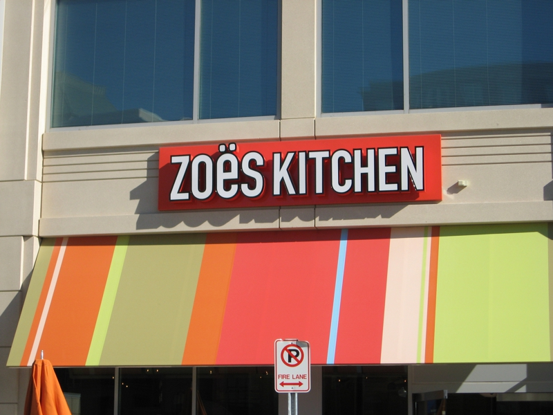 Potomac Md Restaurants Zoe S Kitchen At Park