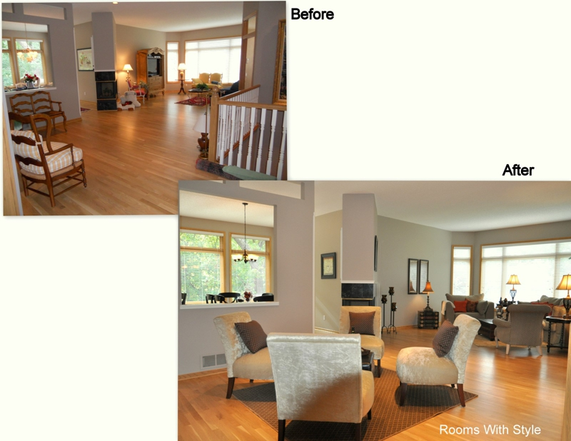 Before and After Hearth Areas