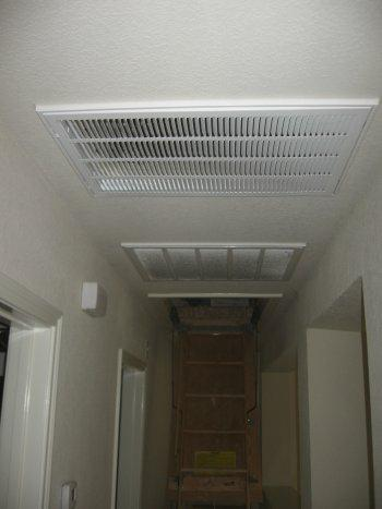 Unusual Air Circulation Method For An Hvac System