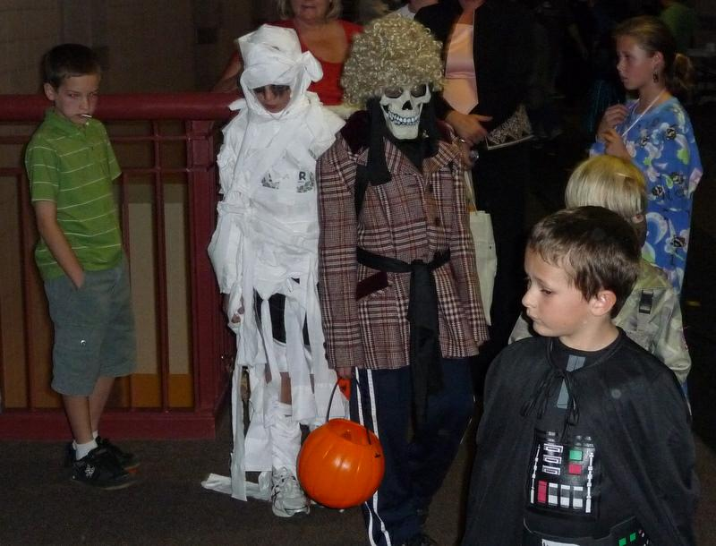 Halloween Trick or Treat Street at Rock Canyon High School in Highlands Ranch CO