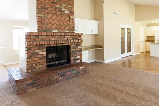 Ravishing Mesa Az houses for sale with red brick fireplace ...