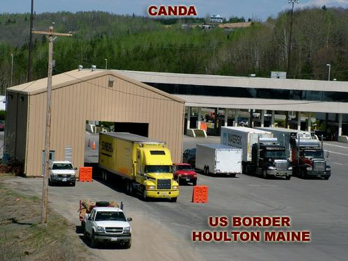 houlton maine us canadian border crossing