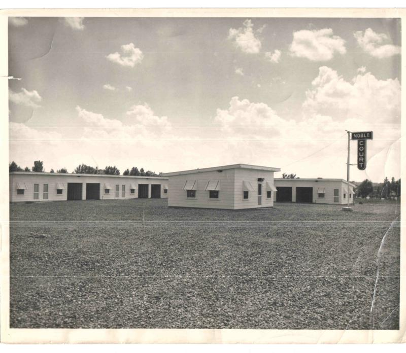 Noble Motel, Searcy AR, circa 1951
