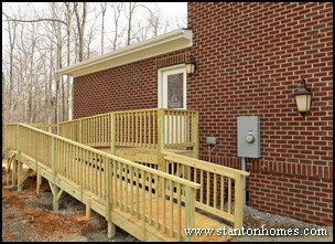 Custom Home Builders - Wheelchair Accessible Homes - ADA and Specially Adapted Housing - Walkways and Ramp Requirements