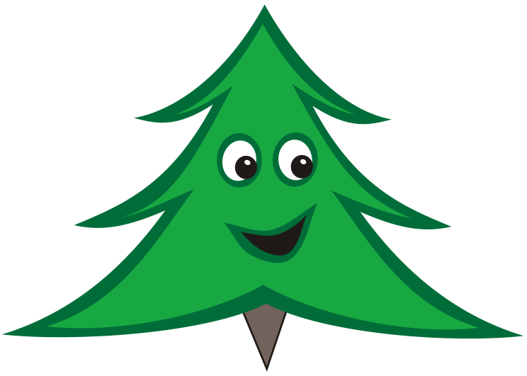 Calabash Smiling Christmas Tree