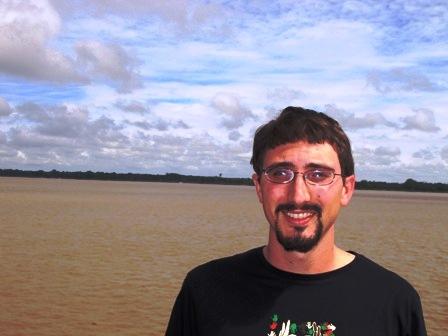 Lee Gross on the Amazon