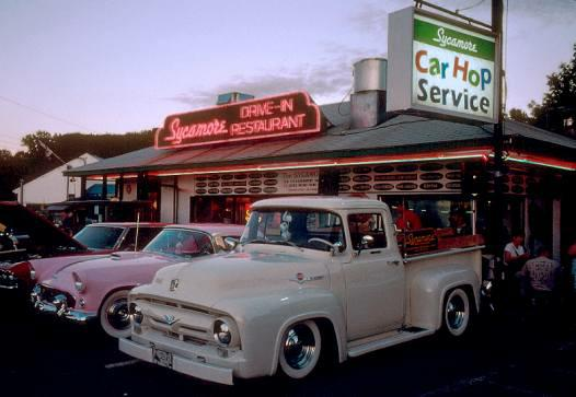 Local Attractions Restaurants The Sycamore Drive In Restaurant Bethel Ct