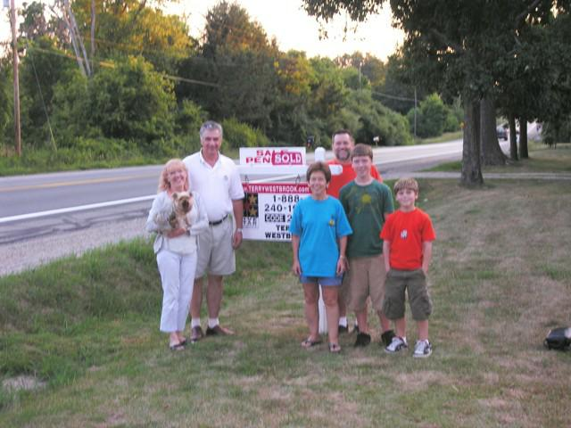 terry westbrook sold property