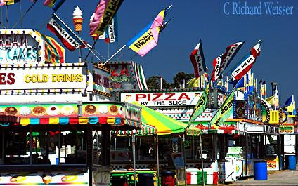 Midway at the Coweta County Fair