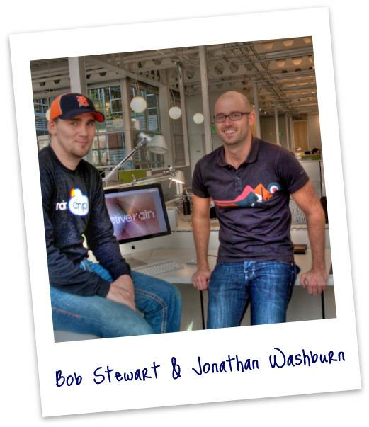 Bob Stewart and Jonathan Washburn