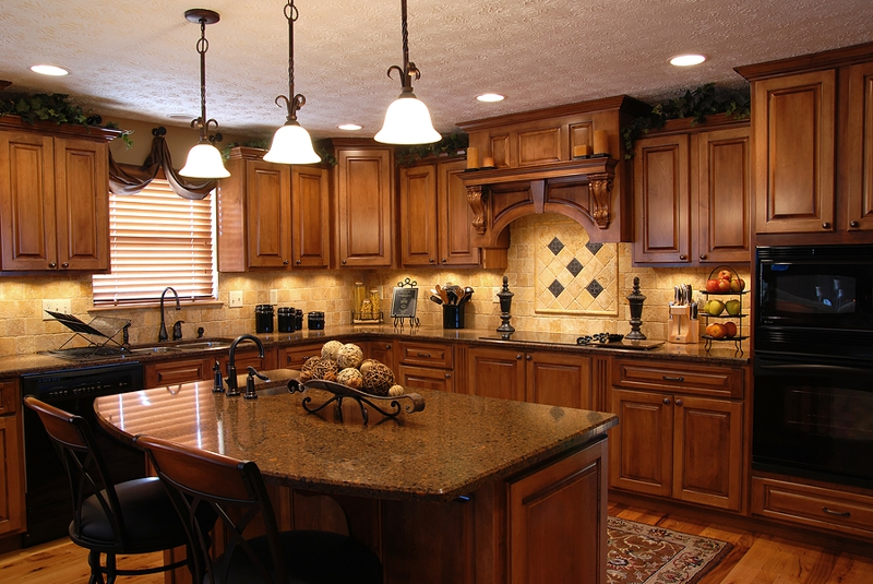 gourmet kitchens in custom build homes