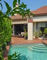 Bay Villas, Pelican Bay, Naples, FL - private pool