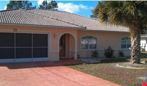 Bank owned home for sale in Palm Coast Florida