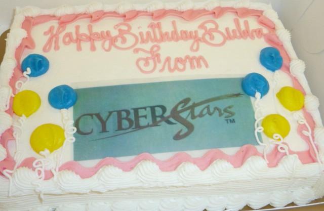 CyberStar Cake HomeRome