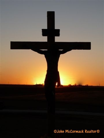 Paid In Full, Jesus, Christ, Crucified, Cross, Groom Texas, John McCormack, Realtor, Albuquerque Homes Realty