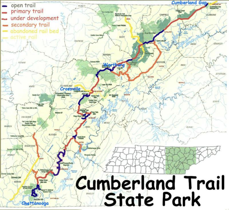 State Parks Tennessee Map.Justin P Wilson Cumberland Trail State Park Crossville Tn Real