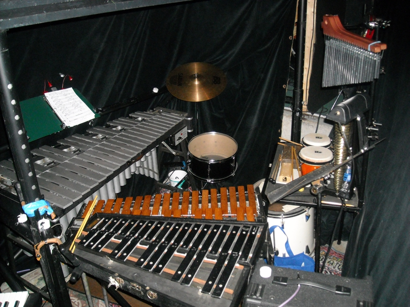 orchestra pit, The Producers, Newport, Oregon