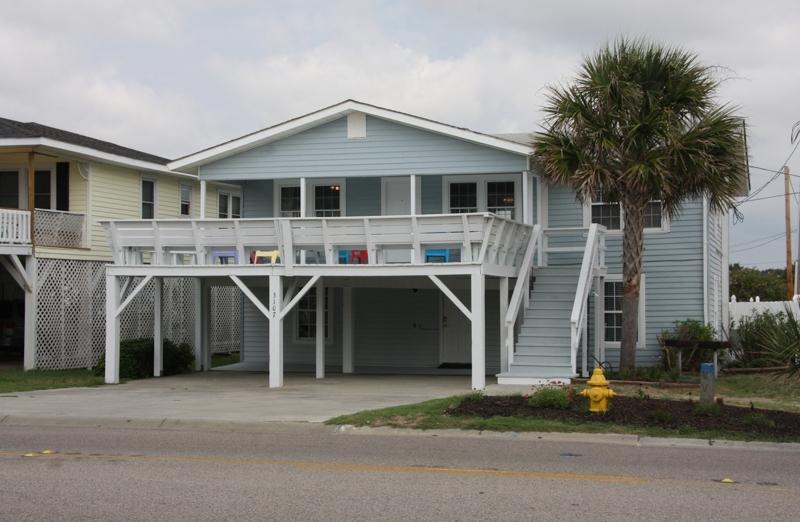Myrtle Beach Beach Houses For Rent Part - 28: Rising Tide Beach Home Cherry Grove Beach In North Myrtle Beach South  Carolina