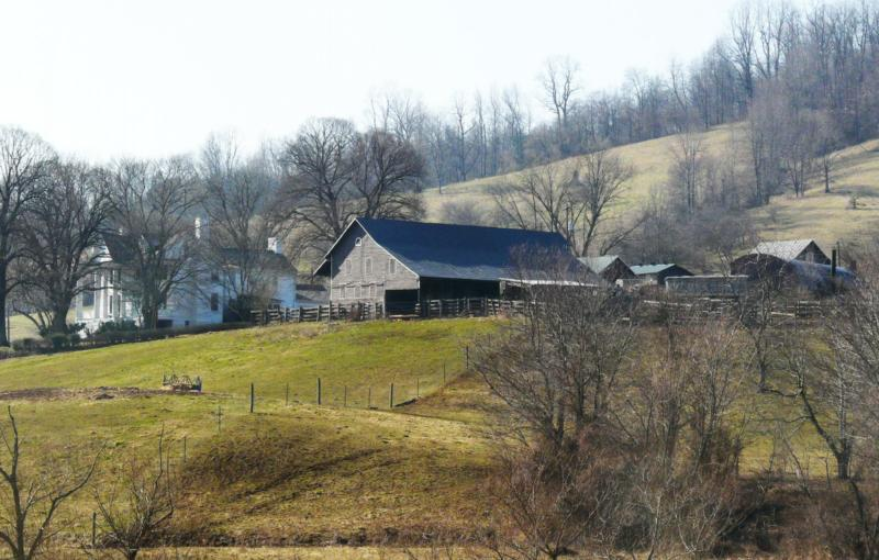 Farm outside Sperryville, VA