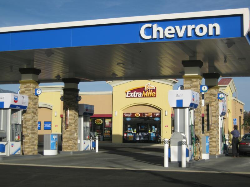 Diesel Near Me >> New Beaumont Chevron Gas Station at Oak Valley Parkway, in ...