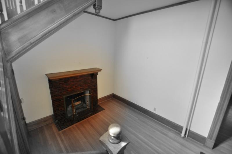 Fireplace B&W