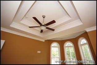types of trey ceilings trey ceiling ideas nc custom homebuilders - Ceiling Types