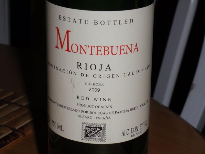 Montebuena 2009 Spanish Red wine