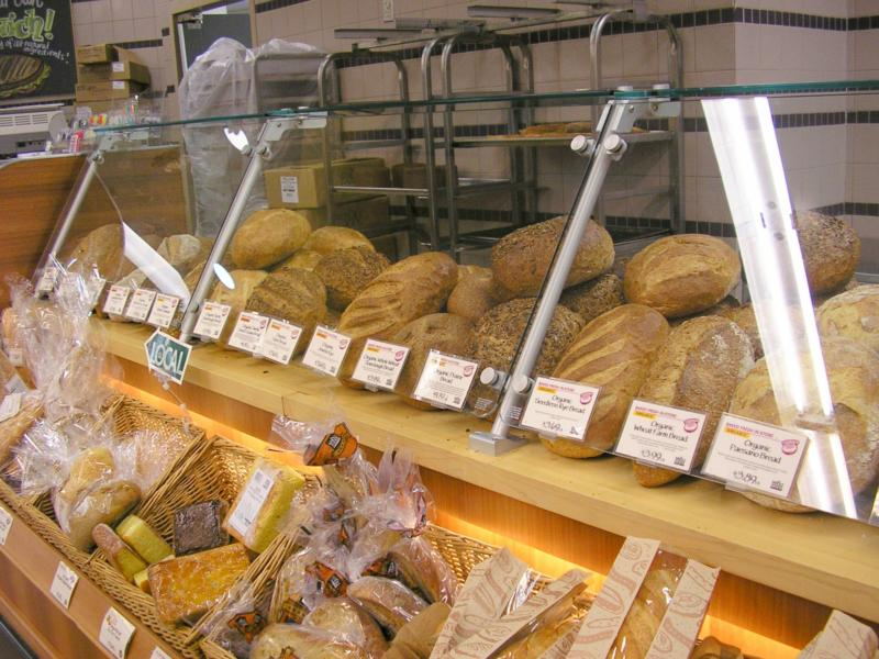 Fresh bread, pastries, cakes, cookies, scones, Whole Foods has it