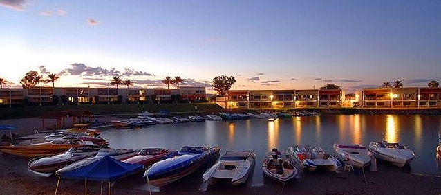 Lake Havasu City - Nautical Beachfront Resort