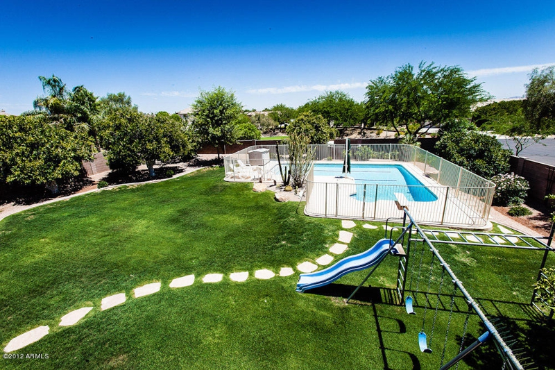 With Play Area And Fenced Pool In 6 Bedroom Homes For Sale In Mesa Az
