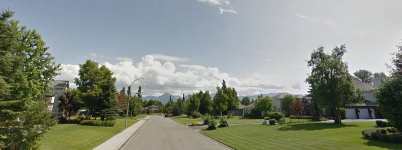 Botanical Heights Neighborhood in Anchorage AK