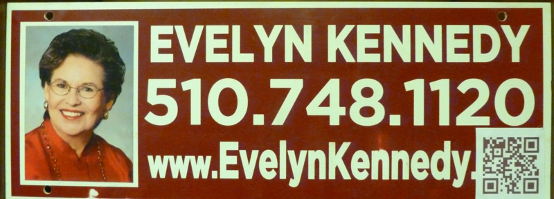 Evelyn Kennedy, Realtor, Alameda CA