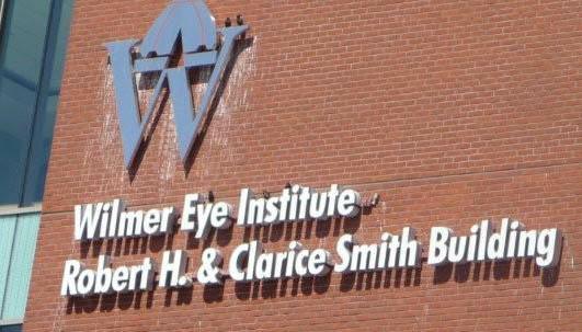Wilmer Eye Institute sign